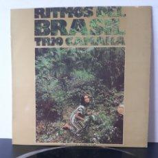 Discos de vinilo: MUY DIFICIL!!! RITMOS DE BRASIL. TRIO CAMARA. RIVIERA. 1972. SPAIN. JAZZ-LATINO.. BOSSANOBA.. Lote 206310247