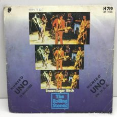 Discos de vinilo: LP - DISCO SINGLE VINILO - THE ROLLING STONES - BROWN SUGAR BITCH - AÑO 1971. Lote 206310830