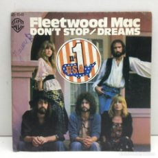 Discos de vinilo: DISCO SINGLE VINILO - FLEETWOOD MAC - DON'T STOP / DREAMS - AÑO 1977. Lote 206311746