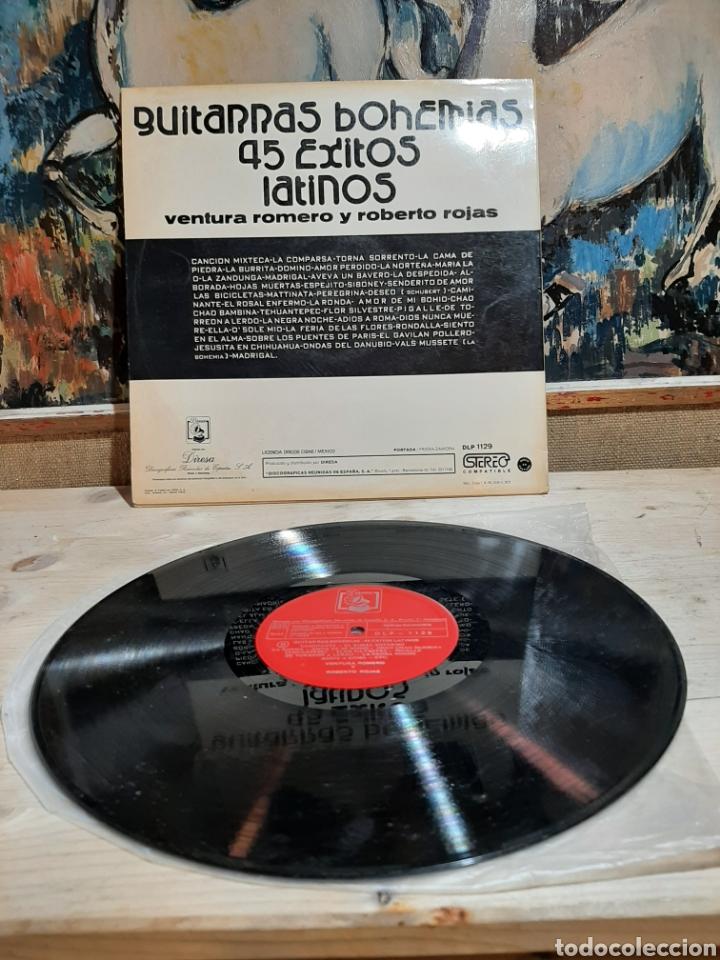 Discos de vinilo: GUITARRAS BOHEMIAS 45 EXITOS LATINOS - Foto 2 - 206313136