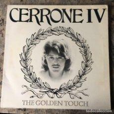 Discos de vinilo: CERRONE - CERRONE IV - THE GOLDEN TOUCH . LP . 1978 CBS . PORTADA DOBLE. Lote 206313243
