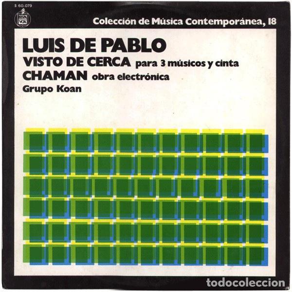 LUIS DE PABLO / GRUPO KOAN (Música - Discos - LP Vinilo - Electrónica, Avantgarde y Experimental)