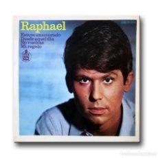 Discos de vinilo: RAPHAEL - ESTUVE ENAMORADO. Lote 206314120