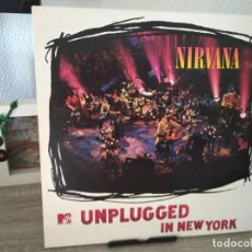 Discos de vinilo: NIRVANA - UNPLUGGED IN NEW YORK - GEFFEN. Lote 206314181