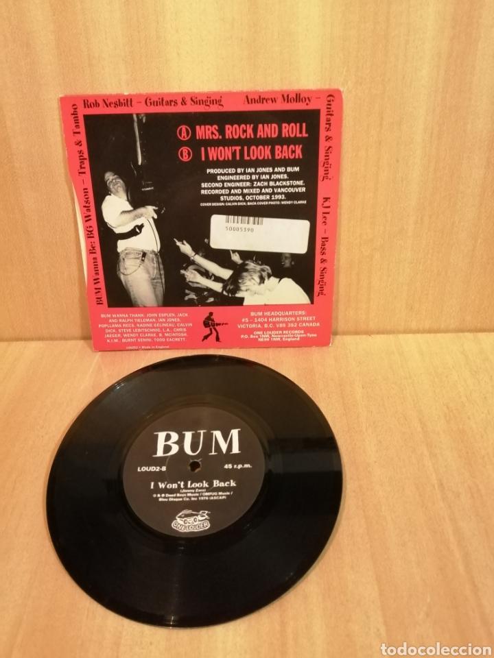 Discos de vinilo: BUM. Mrs Rock and Roll. - Foto 2 - 206314201