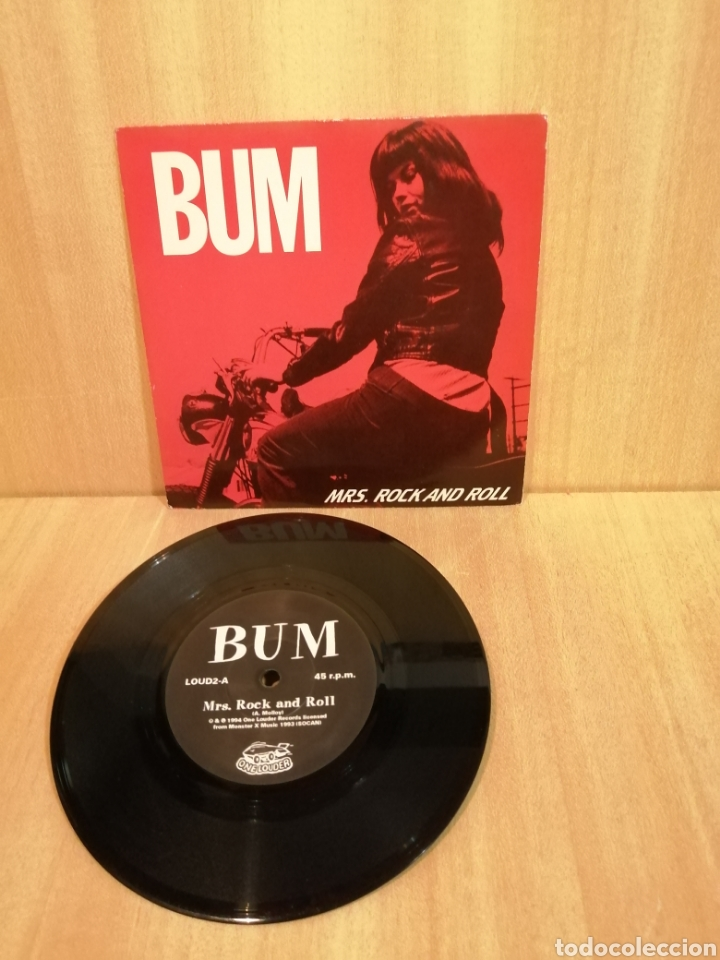 BUM. MRS ROCK AND ROLL. (Música - Discos - Singles Vinilo - Punk - Hard Core)