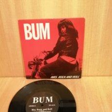 Discos de vinilo: BUM. MRS ROCK AND ROLL.. Lote 206314201