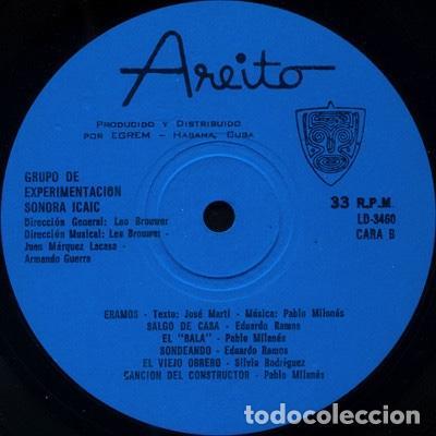 Discos de vinilo: Grupo de Experimentación Sonora del ICAIC (1975) - Foto 4 - 206314451