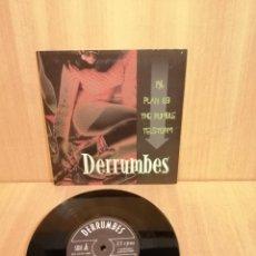 Discos de vinilo: LOS DERRUMBES. EP, 1%, PLAN 69, THE RUMBLE, TELSTORM.. Lote 206314628