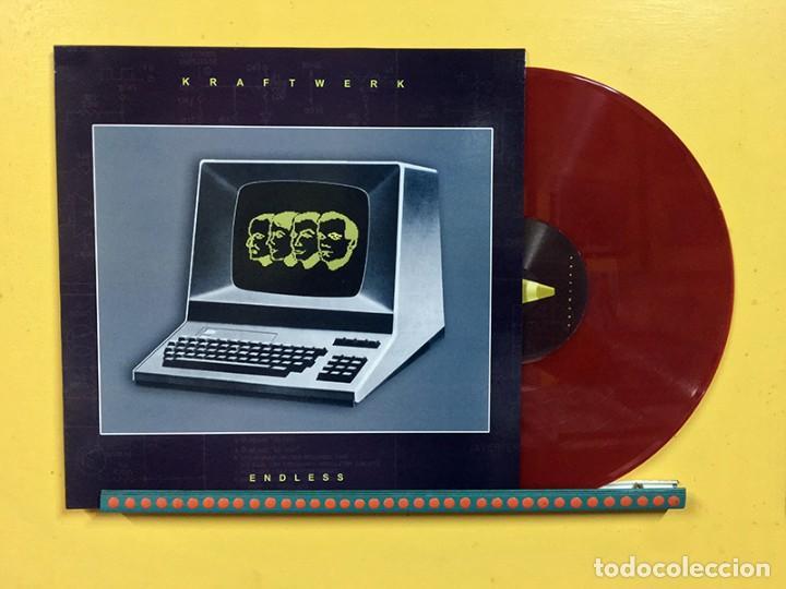 KRAFTWERK LP ENDLESS VINILO COLOR ROJO RAREZAS MUY RARO COLECCIONISTA (Música - Discos - LP Vinilo - Electrónica, Avantgarde y Experimental)