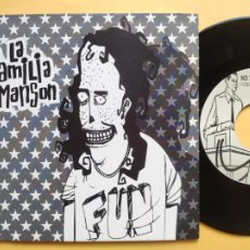 Discos de vinilo: LA FAMILIA MANSON - EP SPAIN PS - MINT * WHAT`A WRONG / CRUSHED ON THE FLOOR / SAD GIRL / ALL ABOUT. Lote 206316288