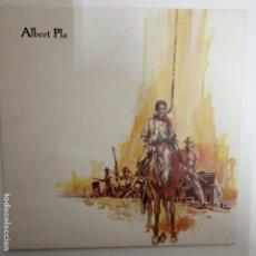 Discos de vinilo: ALBERT PLA- AQUI S´ACABA EL QUE ES DONAVA - LP 1990 + LIBRETO - VINILO COMO NUEVO.. Lote 206319350