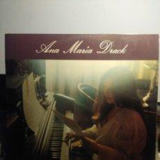 Discos de vinilo: LP ANA MARIA DRACK _ ESTA PROHIBIDO ( TEMAS DE GEORGE BRASSENS , SILVIO RODRIGUEZ, CARLOS TABOADA. Lote 206320758