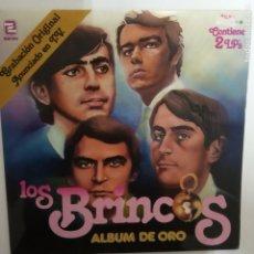Discos de vinilo: LOS BRINCOS- ALBUM DE ORO - 2 LP 1981 - VINILOS COMO NUEVOS.. Lote 206321012