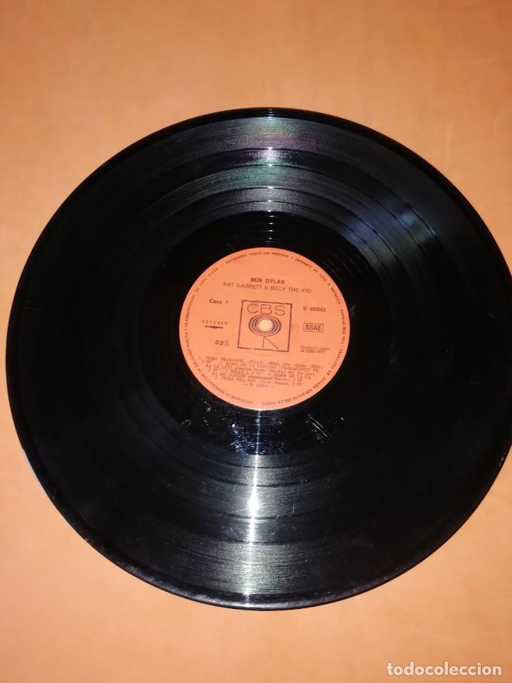 Discos de vinilo: BOB DYLAN SOUNDTRACK. PAT GARRET & BILLY THE KID. CBS 1973. LP - Foto 9 - 206322116