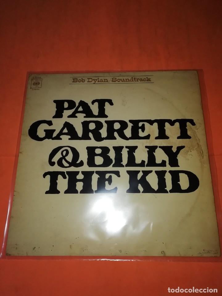 BOB DYLAN SOUNDTRACK. PAT GARRET & BILLY THE KID. CBS 1973. LP (Música - Discos - LP Vinilo - Bandas Sonoras y Música de Actores )