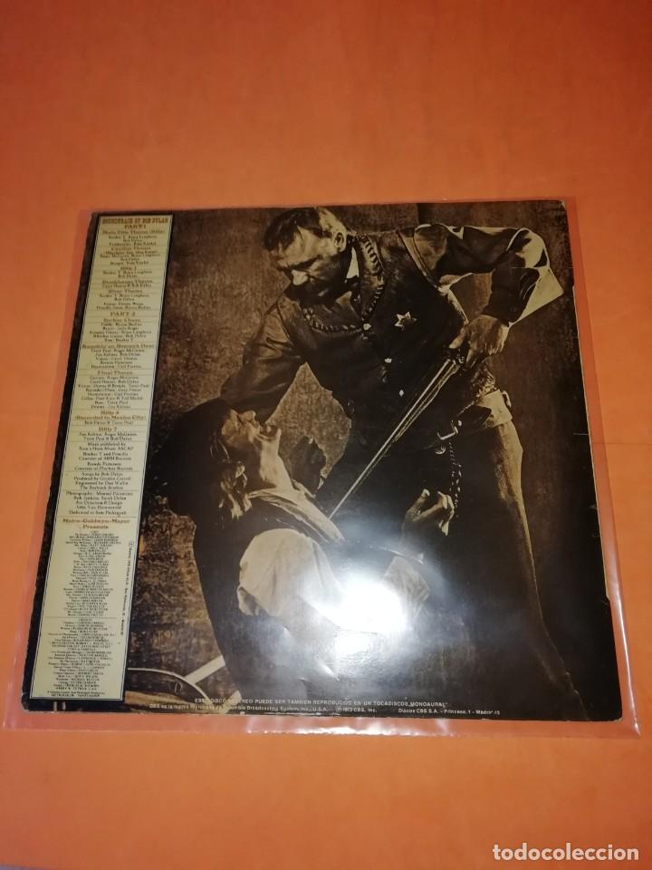 Discos de vinilo: BOB DYLAN SOUNDTRACK. PAT GARRET & BILLY THE KID. CBS 1973. LP - Foto 2 - 206322116