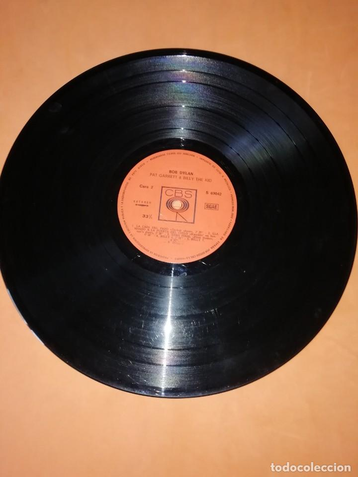 Discos de vinilo: BOB DYLAN SOUNDTRACK. PAT GARRET & BILLY THE KID. CBS 1973. LP - Foto 5 - 206322116
