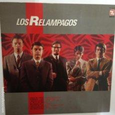 Discos de vinilo: LOS RELAMPAGOS - LP 1984 - VINILO COMO NUEVO.. Lote 206324196