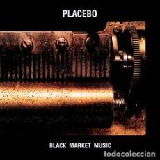 Discos de vinilo: PLACEBO LP BLACK MARKET MUSIC REEDICION VINILO MUY RARO. Lote 206329233