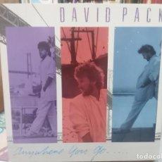 Discos de vinilo: DAVID PACK - ANYWHERE YOU GO - LP. DEL SELLO WB RECORDS 1985. Lote 206331133