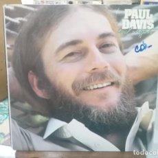 Discos de vinilo: PAUL DAVIS - COOL NIGHT - LP. DEL SELLO ARISTA 1978. Lote 206331722
