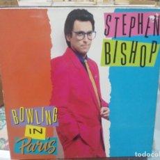 Discos de vinilo: STEPHEN BISHOP - BOWLING IN PARIS - LP. DEL SELLO ATLANTIS 1989. Lote 206332330
