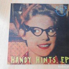 Discos de vinilo: HANDY HINTS EP, EP, TOUGH BOY + 3, AÑO 1993. Lote 206332603