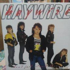 Discos de vinilo: HAYWIRE - DON´T JUST STAND THERE - LP. DEL SELLO ATTIC RECORDS 1987. Lote 206333516