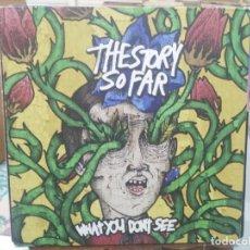 Discos de vinilo: THE STORY SO FAR - WHAT YOU DON'T SEE - LP. DEL SELLO PURE NOISE RECRODS 2013. Lote 206333811