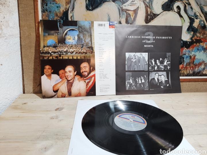 Discos de vinilo: CARRERA DOMINGO PAVAROTTI - Foto 2 - 206334627