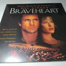 Discos de vinilo: LP - BRAVEHEART (ORIGINAL MOTION PICTURE SOUNDTRACK) -JAMES HORNER - 4832129 - 2LP - 180 GR - NUEVO!. Lote 206335597