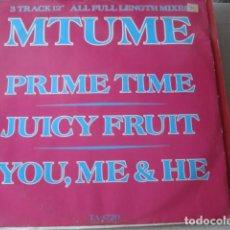 Discos de vinilo: MTUME PRIME TIME. Lote 206335600