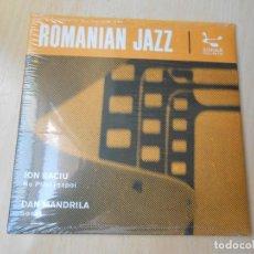 Discos de vinilo: ROMANIAN JAZZ, SG, ION BACIU - NU PRIVI INAPOI + 1, AÑO 2012 MADE IN EU. Lote 206335621