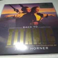 Discos de vinilo: LP - JAMES HORNER – BACK TO TITANIC - MOVATM175 - EDICION LUJO LIMITADA 2 LP - ORO - 180 GR - MINT. Lote 206335986