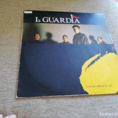 Discos de vinilo: LA GUARDIA-CUANDO BRILLE EL SOL. LP. Lote 206343061