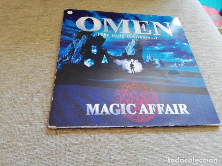 MAGIC AFFAIR-OMEN(THE STORY CONTINUES...).2 LP UK (Música - Discos - LP Vinilo - Techno, Trance y House)