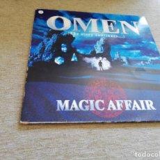 Discos de vinilo: MAGIC AFFAIR-OMEN(THE STORY CONTINUES...).2 LP UK. Lote 206344216
