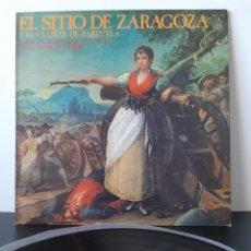 Discos de vinilo: EL SITIO A ZARAGOZA. FANTASIAS DE ZARZUELA. HIPAVOX. 1979. EDICCION RARA.. Lote 206345737