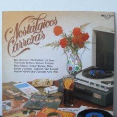 Discos de vinilo: NOSTALGICOS CARROZAS. VARIOS ARTISTAS.. Lote 206347661
