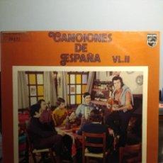 Discos de vinilo: LP ALFREDO Y SUS AMIGOS : CANCIONES DE ESPAÑA VL.II. Lote 206348225