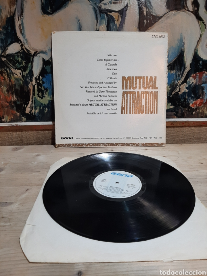 Discos de vinilo: SYLBESTER MUTUAL ATTRACTOR - Foto 2 - 206348373