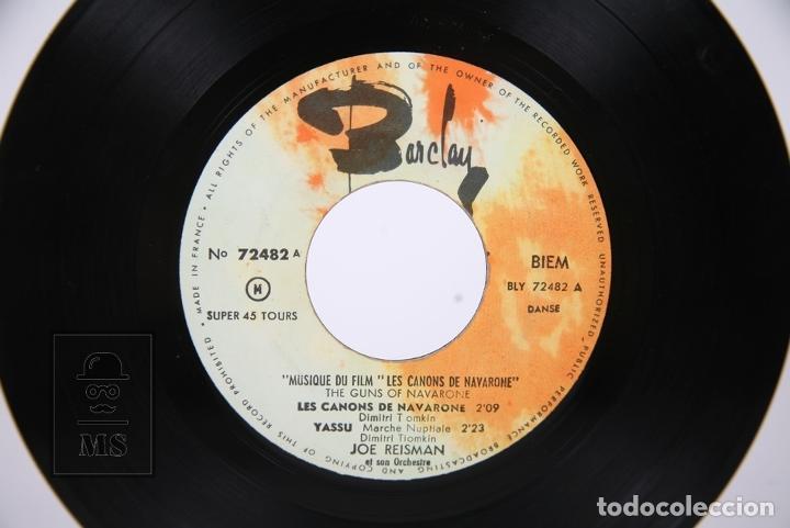 Discos de vinilo: Disco EP De Vinilo - Les Canons De Navarone / Dimitri Tiomkin - Yassu.... - Barclay - Francia - Foto 3 - 206348653