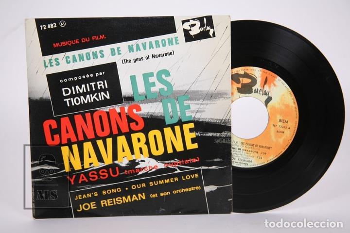 Discos de vinilo: Disco EP De Vinilo - Les Canons De Navarone / Dimitri Tiomkin - Yassu.... - Barclay - Francia - Foto 2 - 206348653