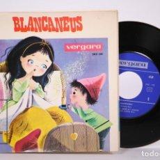 Discos de vinilo: DISCO EP DE VINILO - BLANCANEUS / DISCO CUENTO - EN CATALÁN - VERGARA - AÑO 1965. Lote 206348680