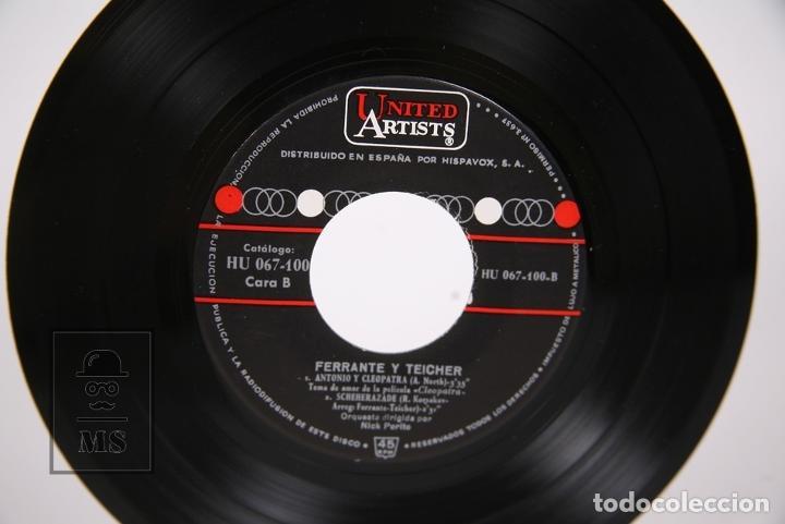 Discos de vinilo: Disco EP De Vinilo - Cleopatra / Ferrante & Teicher - United Artists - Año 1963 - Foto 3 - 206348863