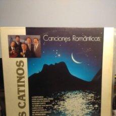Discos de vinilo: LP LOS CATINOS : CANCIONES ROMANTICAS ( FIRMADO POR 4 MIEMBROS DEL GRUPO). Lote 206350260