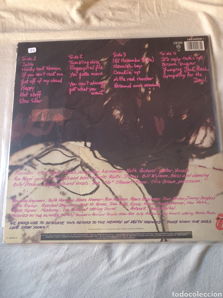 Discos de vinilo: The Rolling Stones love you live - Foto 2 - 206351248