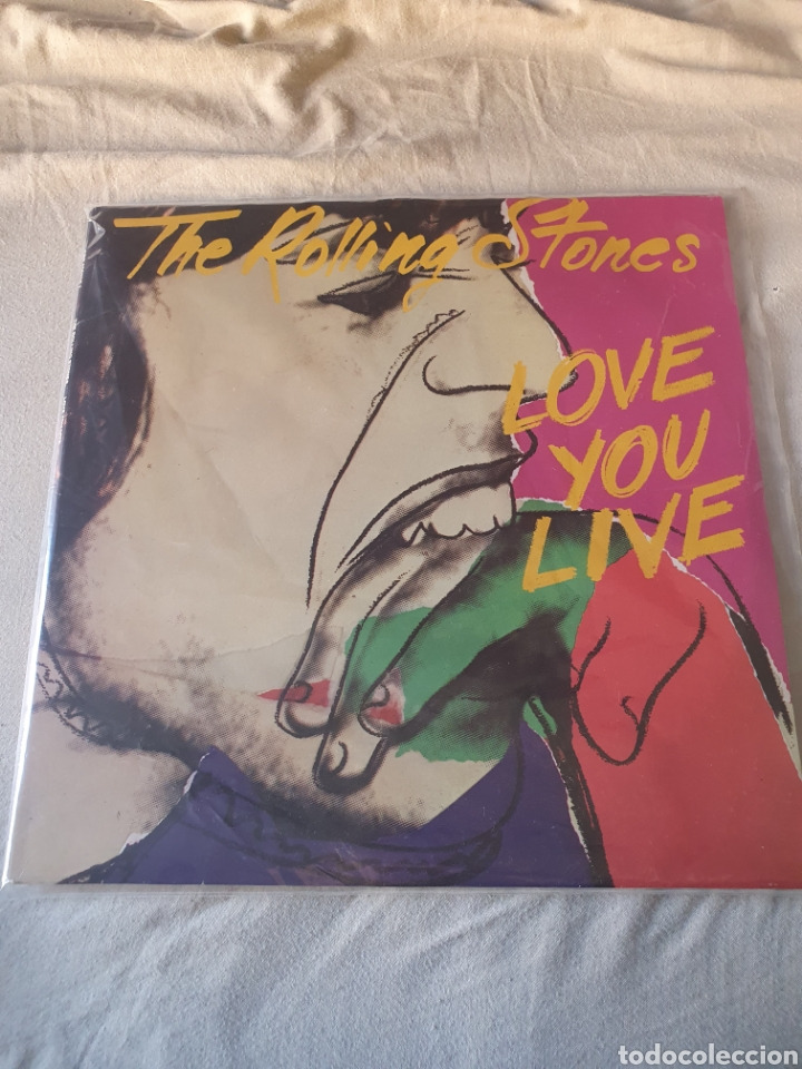 THE ROLLING STONES LOVE YOU LIVE (Música - Discos - LP Vinilo - Rock & Roll)