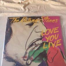 Discos de vinilo: THE ROLLING STONES LOVE YOU LIVE. Lote 206351248